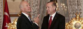 """Biden besucht Erdogan: In Ankara treffen sich genervte """"alte Freunde"""""""