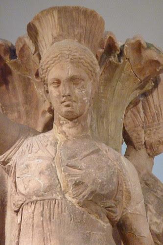 Delphi Archelogical Museum - Acanthus column with dancers