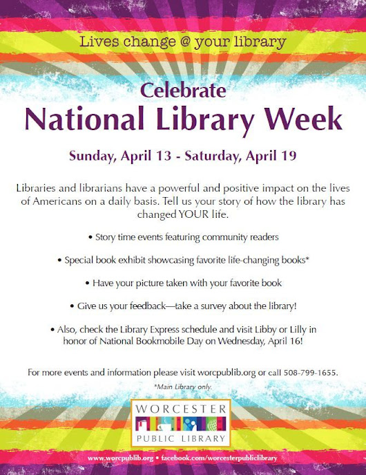 Pin by Worcester Public Library on Events At the Library | Pinterest