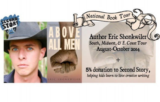 Click here to support National Book Tour + Charity Fundraiser by Leah Angstman