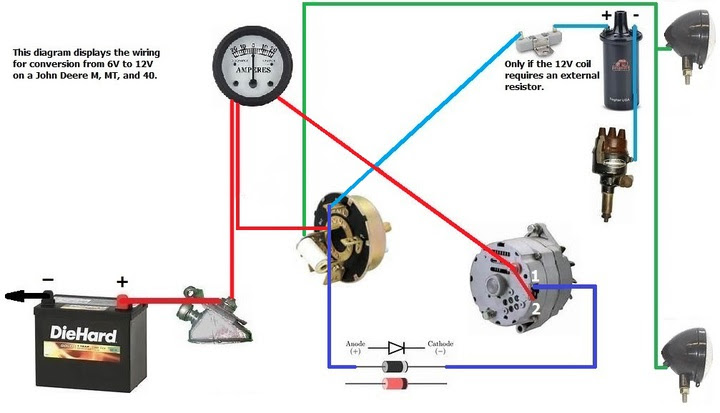 Wiring Diagram  35 John Deere Alternator Wiring Diagram