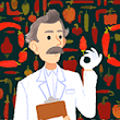 Wilbur Scoville's 151st Birthday Doodle