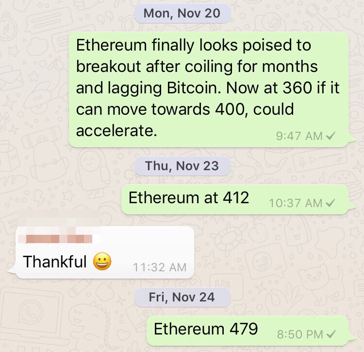Crypto Ethereum Up 100 From 360 Buy To 800