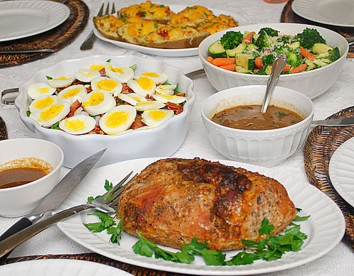 Sunday Pork Roast Dinner What S Cookin Chicago