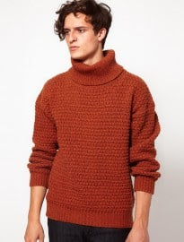 Levis Vintage Cable Knit Roll Neck