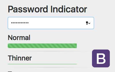 Password Meter Bootstrap 4 - JAKWEB Live Support Chat, HelpDesk and Cloud Chat