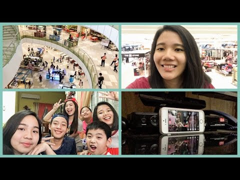 String of Thoughts: Vlog: Late for Class, Movie with Friends, Livestream, My Cousin's Birthday