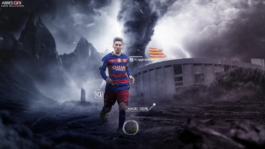 Deviantart More Like Lionel Messi Barcelona 2014 Wallpaper By