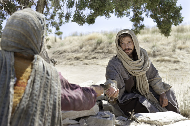 Image result for jesus woman at well