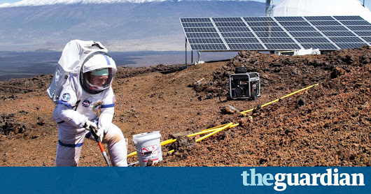 Mars scientists leave dome on Hawaii mountain after year in isolation | Science | The Guardian