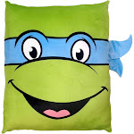 "Nickelodeon Nickelodeon's Teenage Mutant Ninja Turtles 24"" Square 3D Ultra Stretch Travel Cloud Pillow"