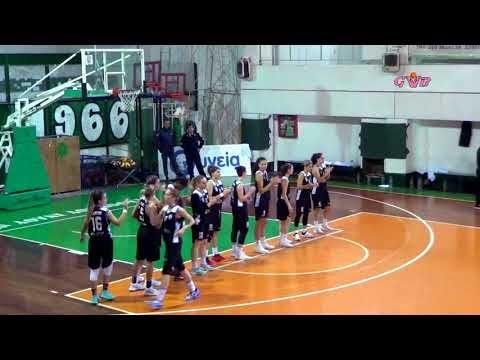 Η παρουσίαση των ομάδων και οι δηλώσεις μετά το τέλος του αγώνα Παναθηναϊκός-ΠΑΟΚ για την Α1 γυναικών