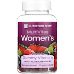 Nutrition Now Women's Gummy Vitamins Mixed Berry - 70 Gummies -PACK 6