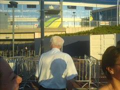 The back of Bobby Robson, honest