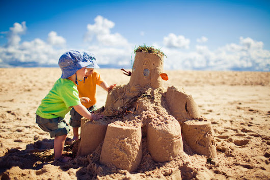Build Your Beach Sandcastle