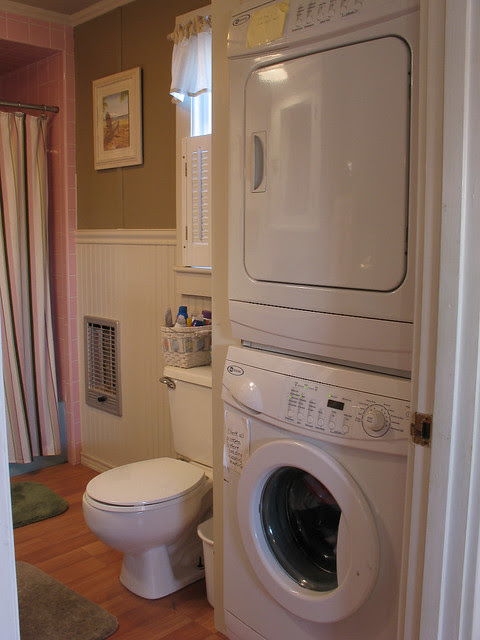 washer and dryer in bathroom - 28 images - small bathroom ...