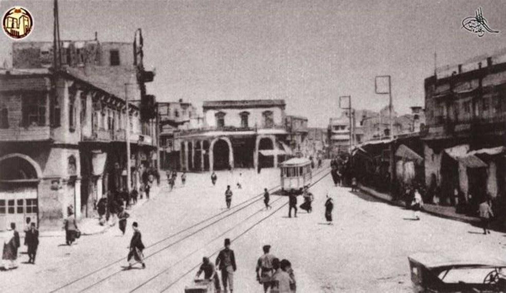 Arquivo mostra imagens do cotidiano de Aleppo nas décadas de 1920 e 30  (Foto: Arquivo Nacional de Aleppo)