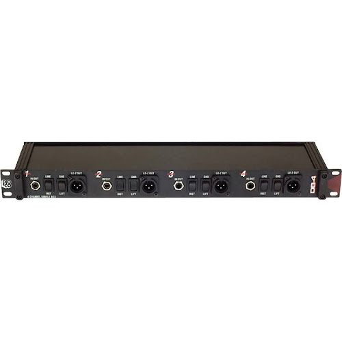 Pro Co Direct Box,4 Channel DB4A