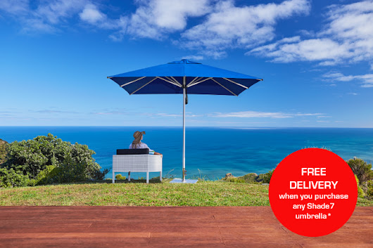 Shade7 Winter Specials & Newsletter - Umbrellas and Outdoor Furniture