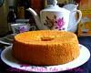 DRAGONFRUIT CHIFFON CAKE.