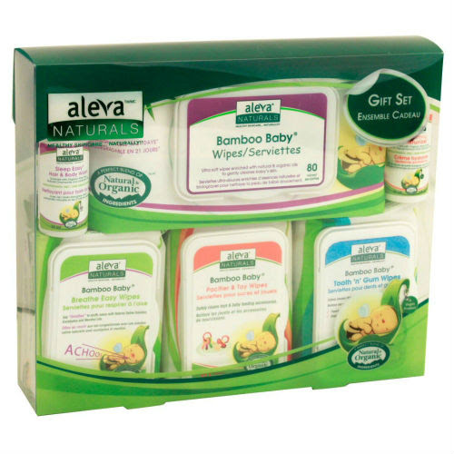 40% OFF Aleva Naturals Bamboo Wipes Set with KidStart