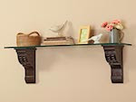 Architectural Shelf Brackets Woodworking Plan - fee plans from WoodworkersWorkshop® Online Store - shelf brackets,corbels,shelving,glass shelfs,shelves,full sized patterns,woodworking plans,woodworkers projects,blueprints,drawings,blueprints,how-to-build