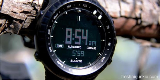 Suunto Core Wrist-top Computer Watch Review: Everything's on Your Wrist!  - Reviews | Directories | Atbp