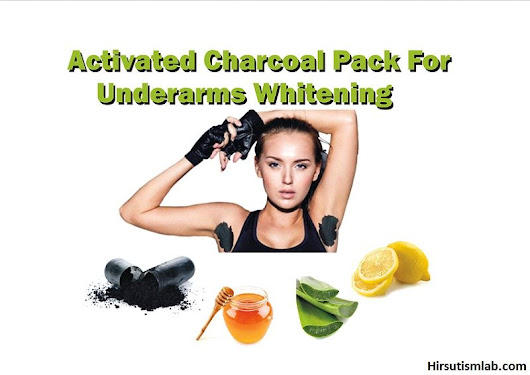 Activated Charcoal For Underarms Whitening: Charcoal & Honey Pack