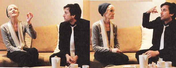 Thomas Dutronc et Françoise Hardy