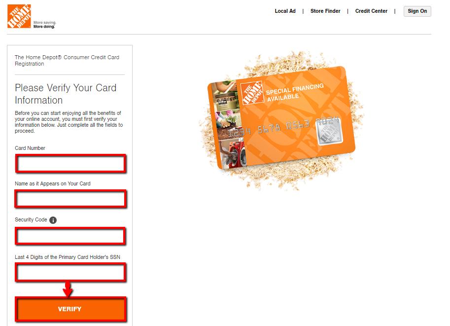 Home Depot Credit Card Login | Make a Payment - 💳 CreditSpot