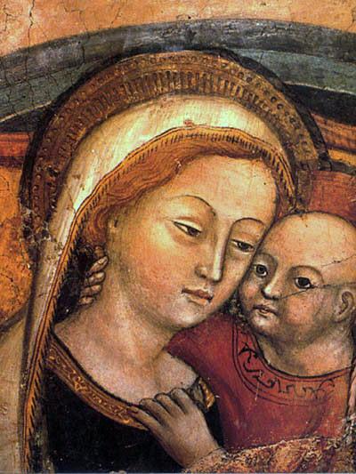 Znalezione obrazy dla zapytania matka boska dobrej rady
