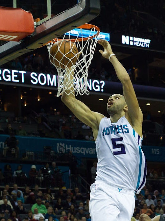 Charlotte Hornets Down The Miami Heat Behind Nicolas Batum's Triple Double