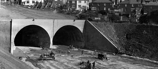 39 fascinating pictures that show the M4 and Severn Bridge being built