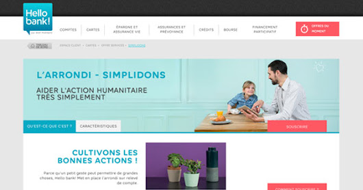 Simplidons : Hello bank! s'engage pour les associations