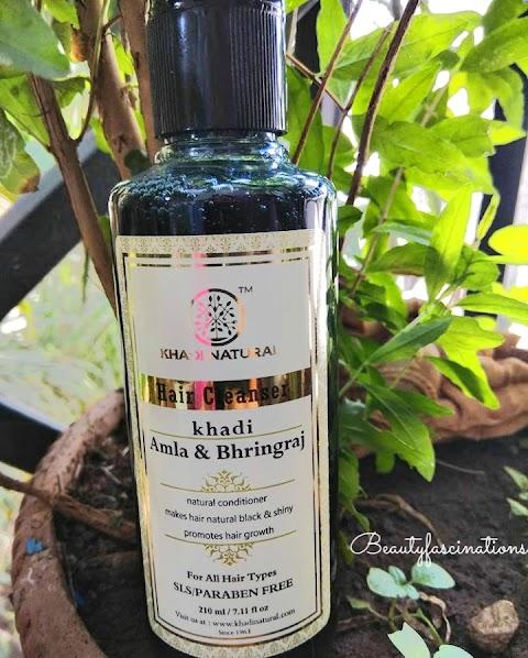 Khadi Amla & Bhringaraj Hair Cleanser review