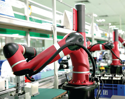 Collaborative robot supports smart manufacturing capabilities