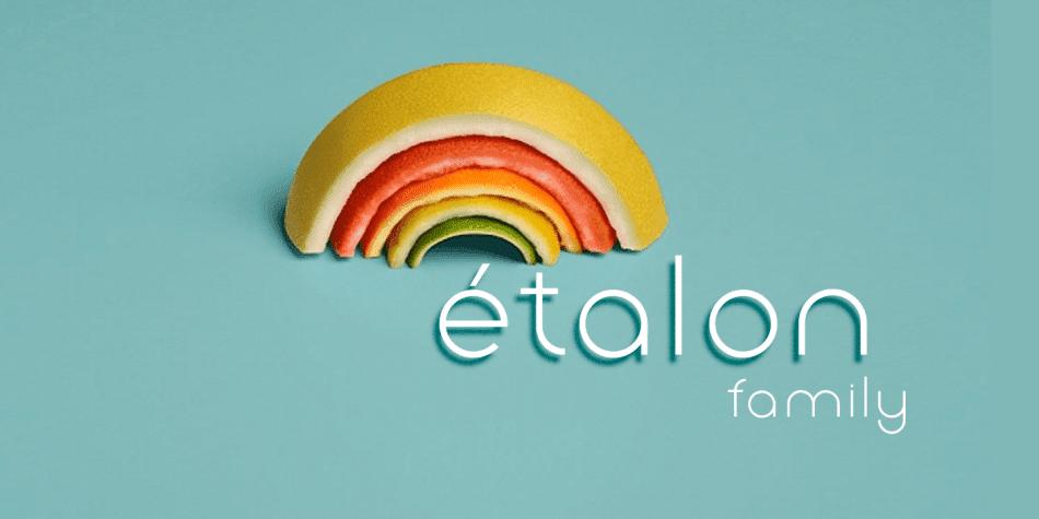 Mia Cann: Download Etalon Font