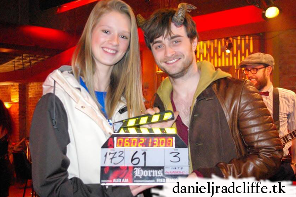 Updated: Make-A-Wish Foundation: Katrina meets Daniel Radcliffe on the set of Horns