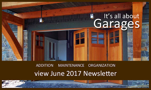 It's all about garages in June 2017 newsletter