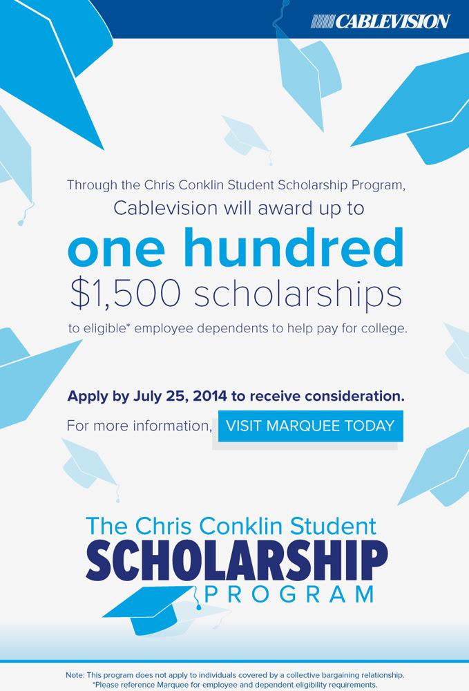 Scholarship Program   John M. Leary