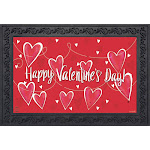 String of Hearts Valentine's Day Doormat