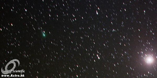 Twitter / CometISONnews: Comet #ISON and #Mars imaged ...