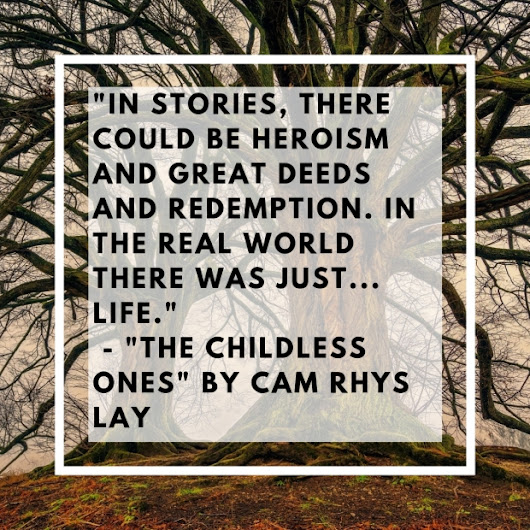 The Childless Ones Blog Tour – Deep Talk with Cam Rhys Lay