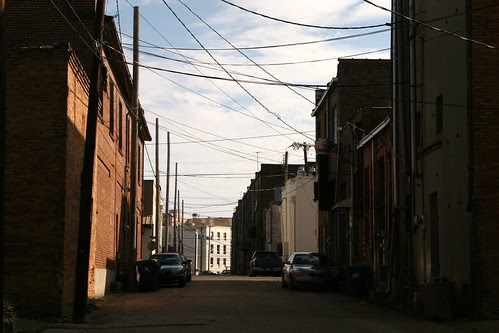 view down minden alley