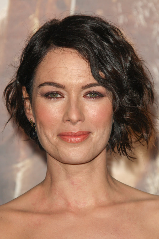 Lena Headey Short Bob with Organic Texture