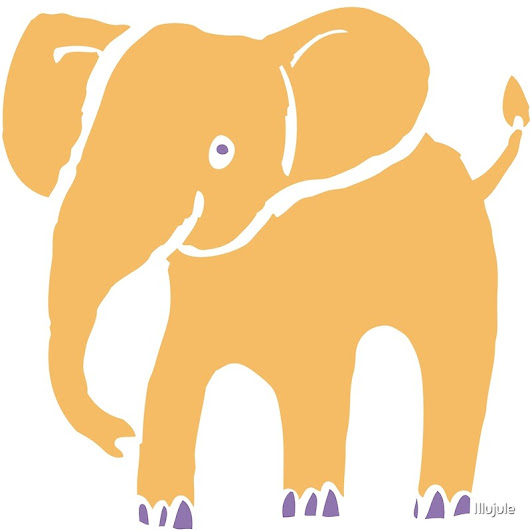 'Kleiner Gold-Elefant'  by Illujule