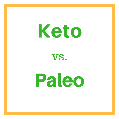 Keto vs. paleo infographic - Life After Carbs