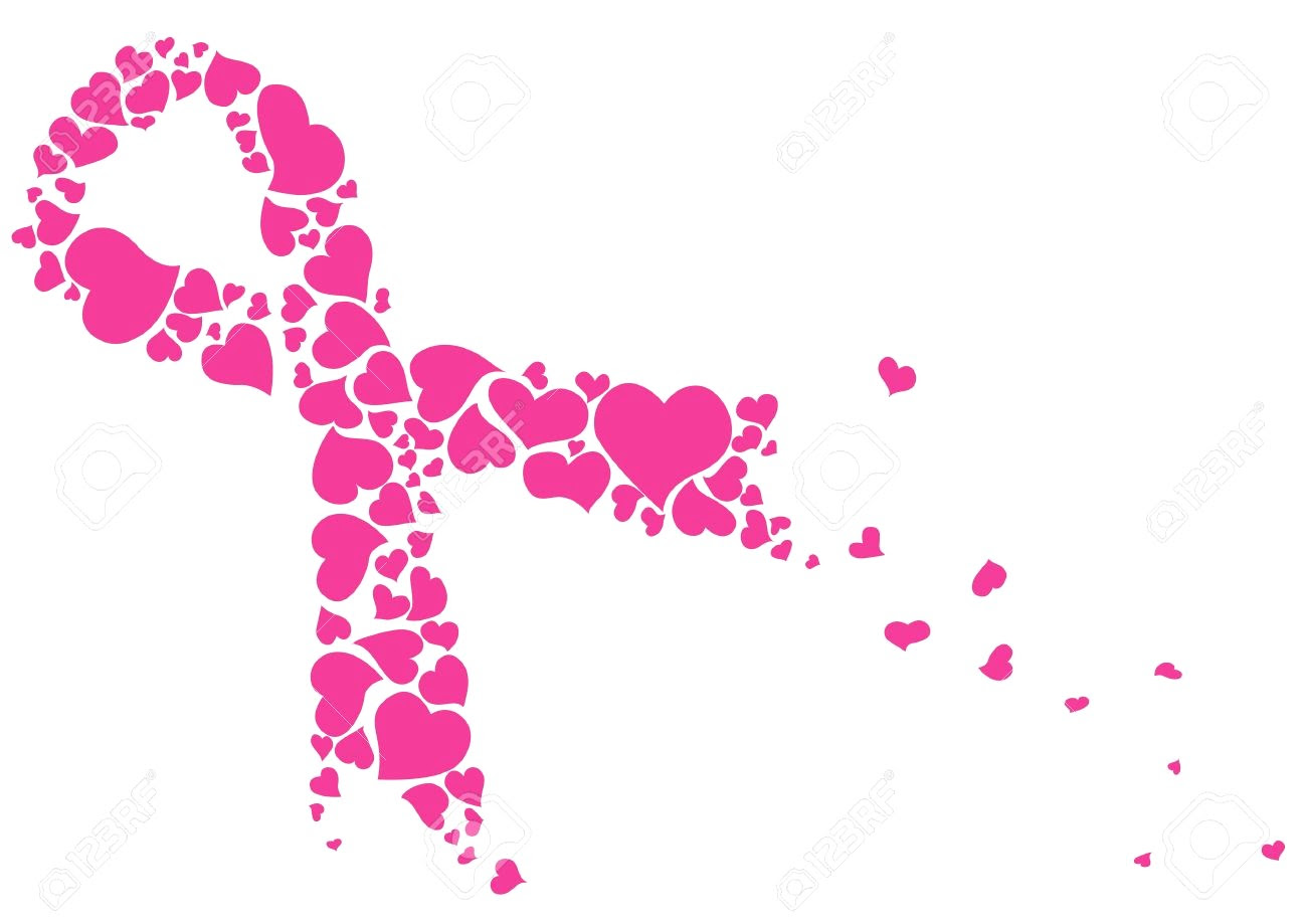 Heart Cancer Ribbon Svg Cancerwalls