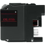 eForCity Ink Cartridge for Brother LC205M, Magenta 2312004