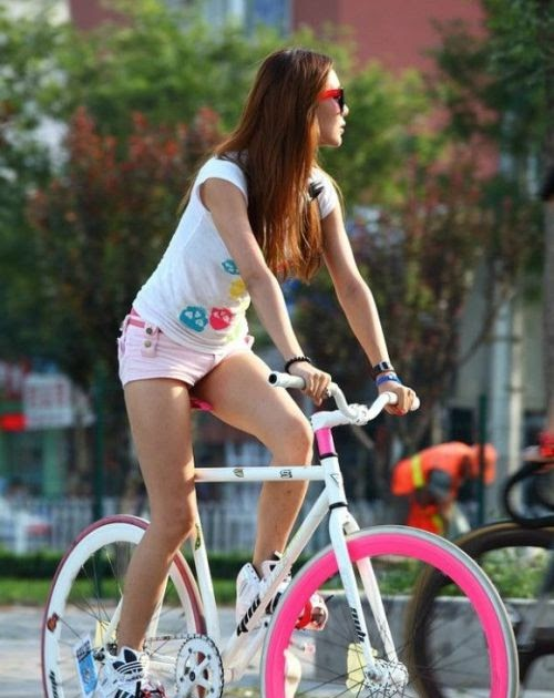 Girl On Bicycle June 20 2015 At 07 22pm